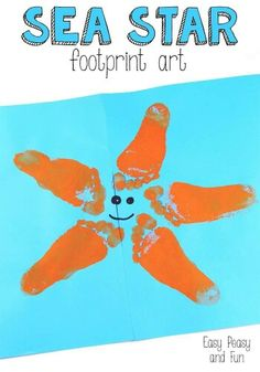 Footprint starfish