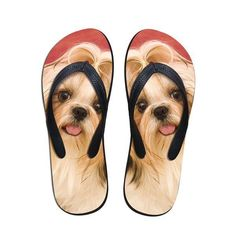 a6dc38b7028785 Flip Flops Women Beach Slippers Cute Printed Sandals. Animal PrintsAnimal  Print FashionRubber SandalsSummer FlatsWoman ...