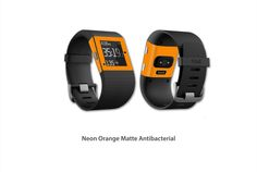 https://flic.kr/p/z8k2Vc | Neon Orange Matte Antibacterial | Fitbit Surge skin kit series Antibacterial Matte! Now available for purchase!!  Click on the link below to make your purchase: www.stickerboy.net/pages/fitbit-surge-skins-skin-series