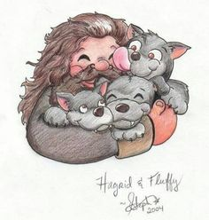 Hagrid-this picture makes me so happy