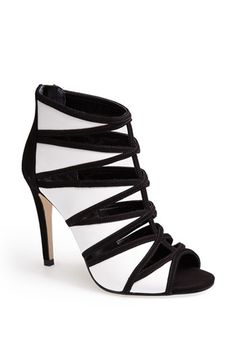 Ivanka Trump 'Derry' Open Toe Bootie available at #Nordstrom
