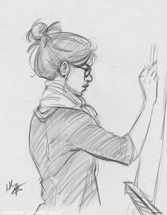 sketches and drawings by Samantha Youssef Shading Drawing, Gesture Drawing, Life Drawing, Figure Sketching, Figure Drawing, Pencil Art Drawings, Drawing Sketches, Stippling Art, Beautiful Girl Drawing