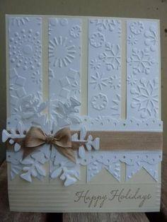 Snowflake Card by Joan A. Walker Cox
