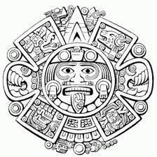 figuras prehispanicas para colorear - Buscar con Google