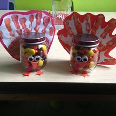 Babyfood Jars Turkey Craft