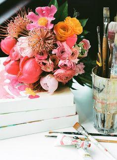 Elements of Style Blog | Fashion Friday: Painterly Inspiration | http://www.elementsofstyleblog.com