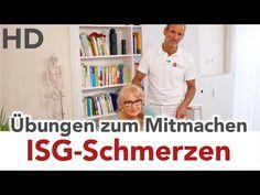 ISG Schmerzen Übung mit der Faszienrolle // Iliosakralgelenk, ISG-Syndrom, - YouTube