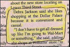freakin hilarious....dollar store dress code