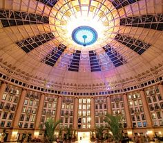 The dome at West Baden . . . an unexpected sight in southern Indiana!