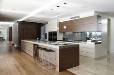 123 Home Renovation Ideas: Contemporary Kitchen Style Contemporary Kitchen Renovation, Modern Kitchen Design, Interior Design Kitchen, Kitchen Sets, New Kitchen, Kitchen Dining, Kitchen Decor, Stone Kitchen, Kitchen Cupboards