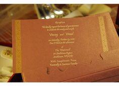 Invitation: reception card