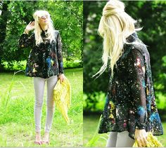 Galaxy. (by Coury Combs) http://lookbook.nu/look/3814879-Galaxy