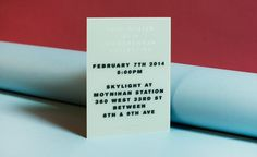 Fashion week A/W 2014 invitations: womenswear collections | Fashion | Wallpaper* | Rag & Bone