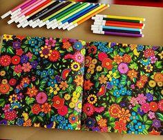 Floresta encantada/ jardim secreto Flores