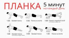 Планка упражнение для похудения, всего 5 минут в день и потрясающий эффект уже через две недели!