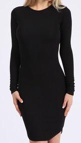 Kylie Crepe Long Sleeve Bodycon | needthatdress.com