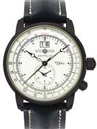 Graf Zeppelin German Made, Dual Time Big Date 100 Years of Zeppelin Watch #7640-3
