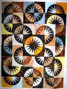 Desert Sky, Quiltworx.com, Made by Chareen Bock, Taught by Certified Instructor Sue Wilson.