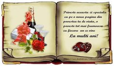 Roses images la multi ani wallpaper and background photos Beautiful Red Roses, Pretty Roses, Romantic Roses, Happy Birthday Messages, Birthday Images, Birthday Wishes, Yorkshire Rose, Joelle, Princess Photo