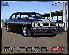 Australian Muscle Cars, Aussie Muscle Cars, American Muscle Cars, Ford Girl, Custom Muscle Cars, Old Classic Cars, Ford Falcon, Car Ford, All Cars