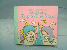 【1976】Mini Sticker Book ★Little Twin Stars★