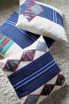 Pillows by Lorenza Filati. Handmade in Guatemala