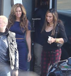 Beyonce and Tina Knowles spotted leaving a family lunch