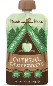 Munk Pack Oatmeal Fruit Squeeze #CDAM15