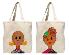 Naturally Me Tote Bag by QuellyRueDesigns on Etsy