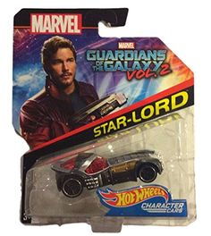 Hot Wheels 1:64 Marvel Character Car Guardians of the Galaxy Star-Lord DXV09