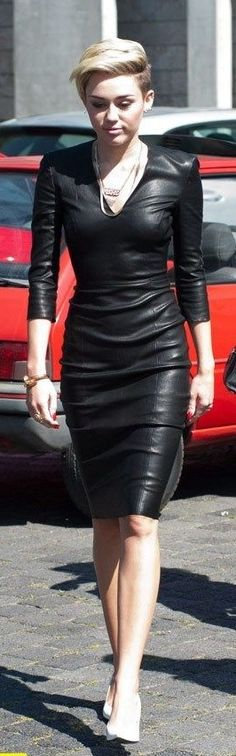 Miley Jitrois Leather frock