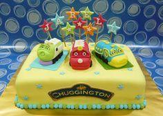 Jenn Cupcakes & Muffins: Chuggington Cake