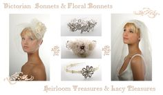 Victorian Inspired Accessories by Richard Designs available from www.thebridalwearcompany.co.uk. Call us for prices and more information