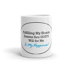 Hearts Desire's Mug - Blue