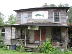 A old store in Jenkins county