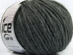 Fiber Content 50% Acrylic, 50% Wool, Brand ICE, Grey, fnt2-40529