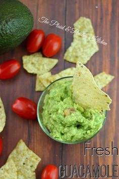 Fresh Guacamole ~ The Perfect dip for tortilla chips and bursting with great flavor and fresh ingredients.