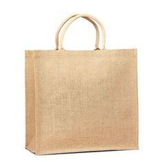 Jute Shopping Tote w/ Cotton Web Handle  jutetotebags.spsgroup.net