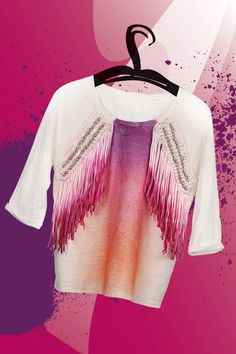 Fashionspray Marabu, 100 ml aubergine Trends, Diy Fashion, Outfit, Crop Tops, Women, Eggplant, Unique Clothing, Textiles, Tutorials