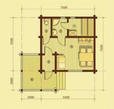 """Проект дома """"Баня-10"""""""
