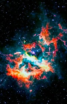 One of the most fertile regions in our Milky Way galaxy, a nebula called RCW 49 is 350 light years across and contains over 2200