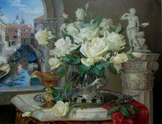 Por Amor al Arte: La naturaleza muerta. Artista Dmitry Vlasov