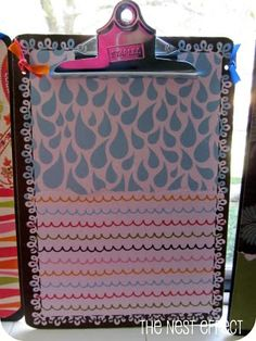 DIY Decorated Clipboard : decorated clipboard ideas - www.pureclipart.com