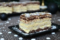 Baking Recipes, Cookie Recipes, Romanian Food, Food Cakes, Coco, Nutella, Delicious Desserts, Caramel, Bakery
