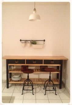 ikea norden sideboard hack diy and crafty stuff pinterest sideboard k che schrebergarten. Black Bedroom Furniture Sets. Home Design Ideas