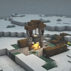 Minecraft Portal, Minecraft House Plans, Minecraft Cottage, Cute Minecraft Houses, Minecraft City, Minecraft House Designs, Minecraft Construction, Minecraft Blueprints, Minecraft Creations