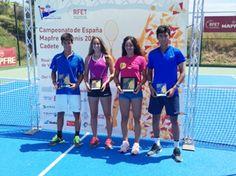 Carlota Molina, Campeona de España en dobles cadete y Subcampeona en individuales, 2016.