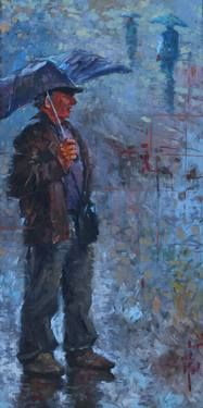 Under the Rain Under The Rain, Saatchi Art, Artist, Painting, Inspiration, Biblical Inspiration, In The Rain, Painting Art, Paintings