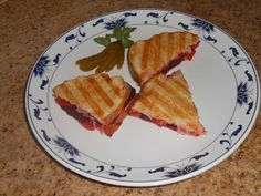 Chef JD's Street Vender Food: Panini of Roasted Beet & Red Pepper with Pickled L...