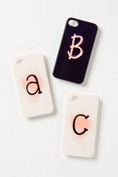Initial iPhone cases